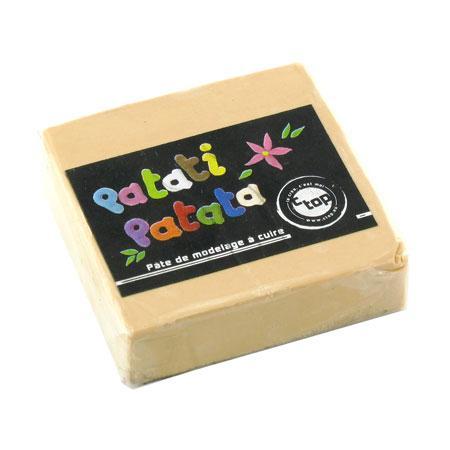 Pâte à modeler polymère Patati Patata - chair - 50 g