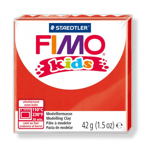 Fimo Kids - Rouge - 42 g