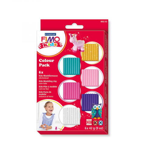 Fimo Kids - Colour Pack - Fille