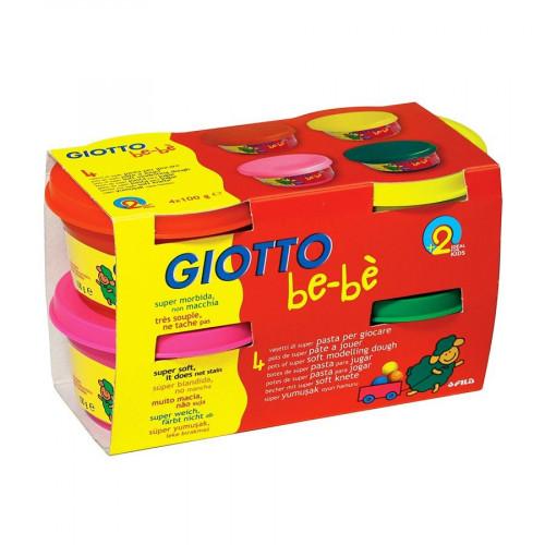 Pots de pâte à jouer Giotto Be-bè