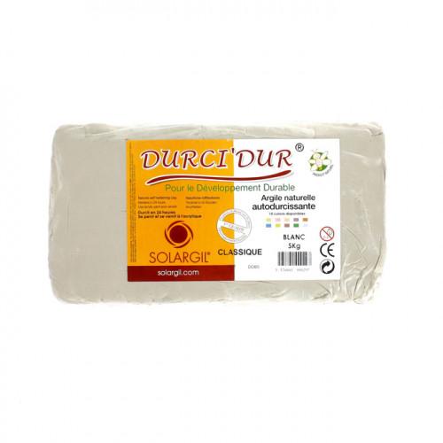 Argile Durci'Dur auto-durcissante 5kg Blanc