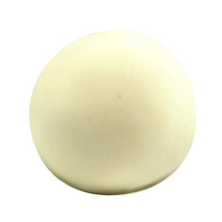 Pâte à modeler naturelle - blanc - 100 g