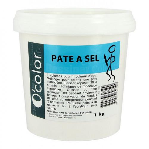 Pâte à sel en seau - 1 kg