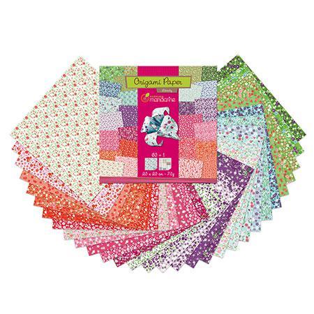Pochette Origami Paper - 20 x 20 cm - Liberty