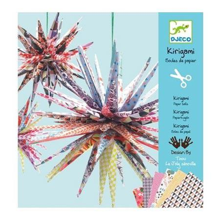 Kirigami -  Boules de papier
