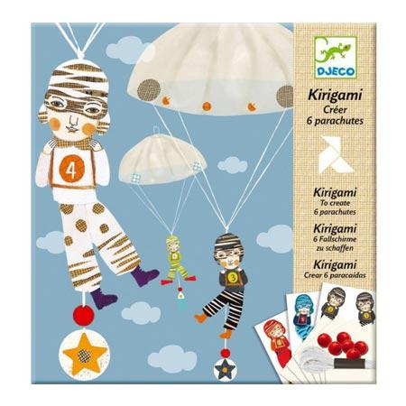 Kirigami - Parachutes - L'équipe des garçons
