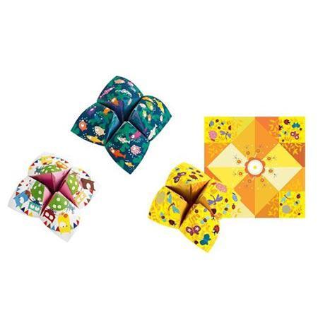 Origami - Initiation - Salières à gages