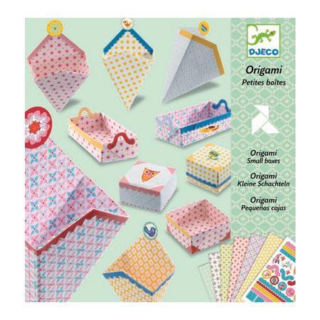 Origami - Petites boîtes
