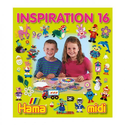Livre Inspiration 16 pour perles à repasser midi