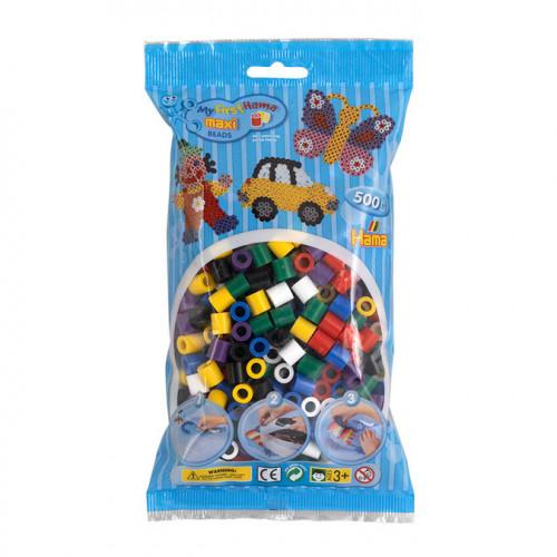 500 perles à repasser maxi - Multicolore