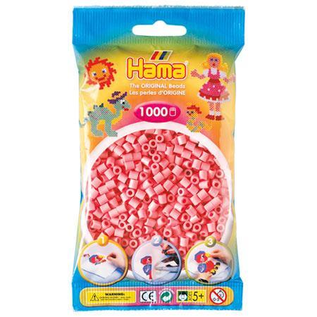 Perles Hama midi x 1000 - Rose