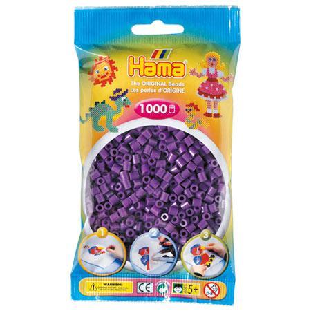 Perles Hama midi x 1000 - Violet