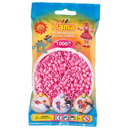 Perles Hama midi x 1000 - Rose pastel