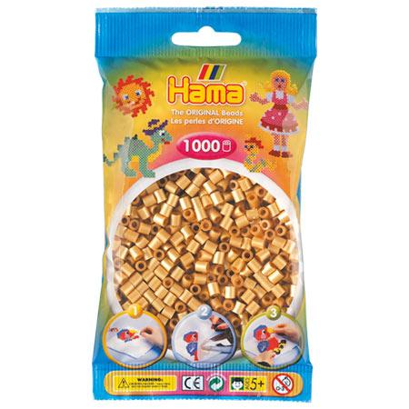 Perles Hama midi x 1000 - Or