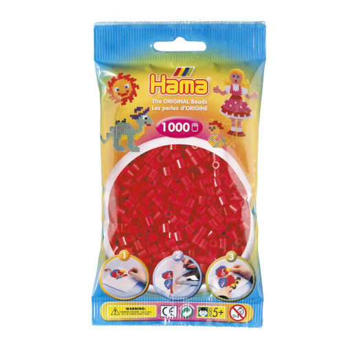 Perles à repasser Midi x 1000 - Rouge