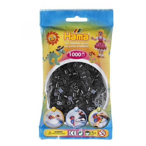 Perles à repasser Midi x 1000 - Noir