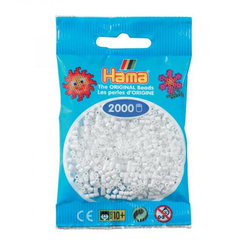 Perles à repasser Mini x 2000 - Blanc
