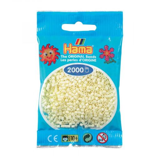 Perles à repasser Mini x 2000 - Crème