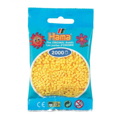 Perles à repasser Mini x 2000 - Jaune