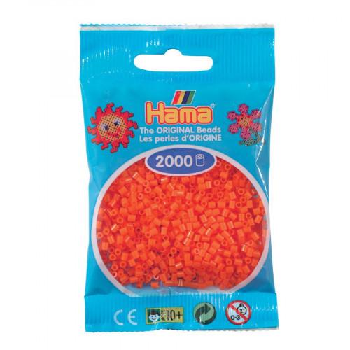 Perles à repasser Mini x 2000 - Orange
