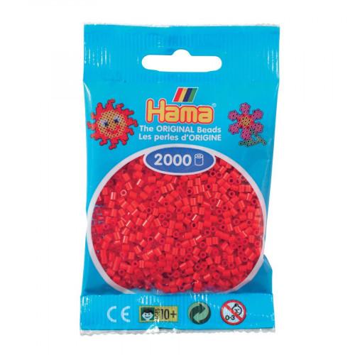 Perles à repasser Mini x 2000 - Rouge