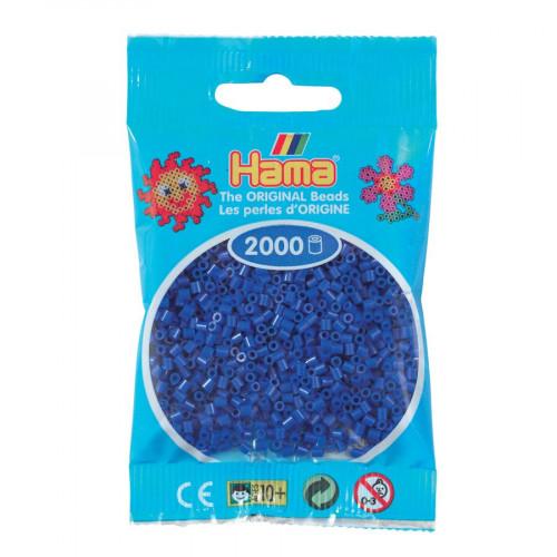 Perles à repasser Mini x 2000 - Bleu foncé