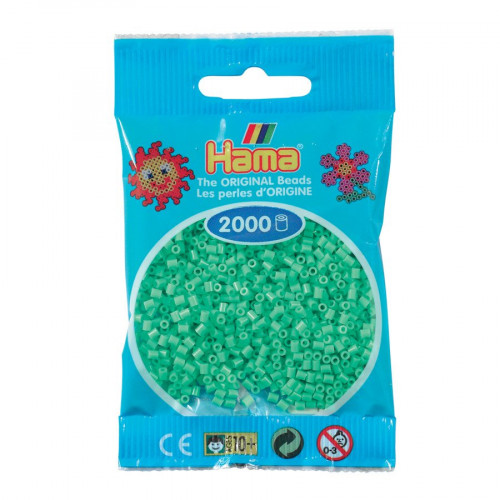 Perles à repasser Mini x 2000 - Vert clair