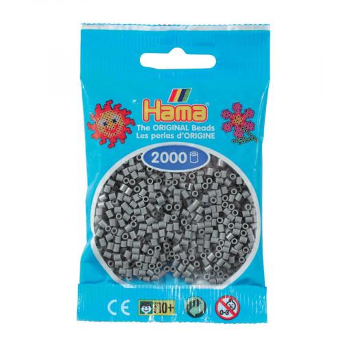 Perles à repasser Mini x 2000 - Gris