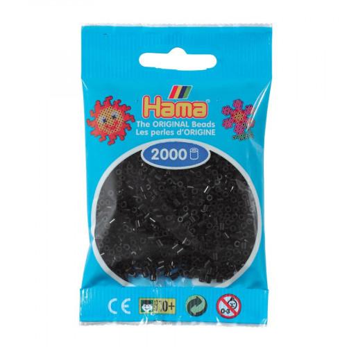 Perles à repasser Mini x 2000 - Noir
