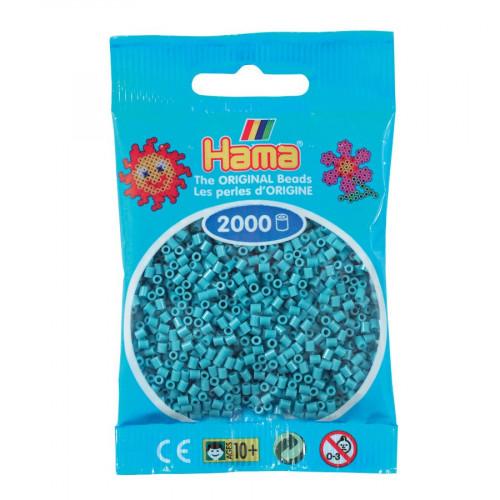 Perles à repasser Mini x 2000 - Turquoise