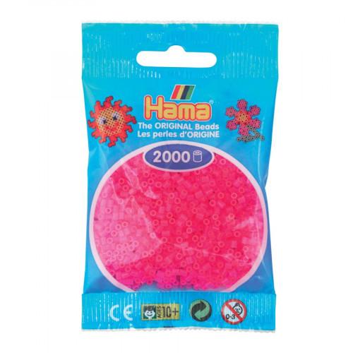 Perles à repasser Mini x 2000 - Fuchsia