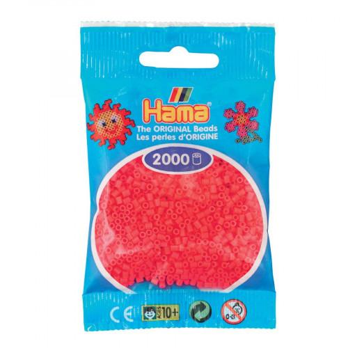 Perles à repasser Mini x 2000 - Cerise