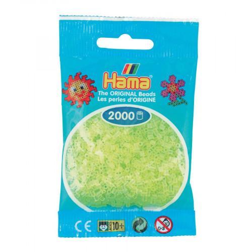 Perles à repasser Mini x 2000 - Jaune citron
