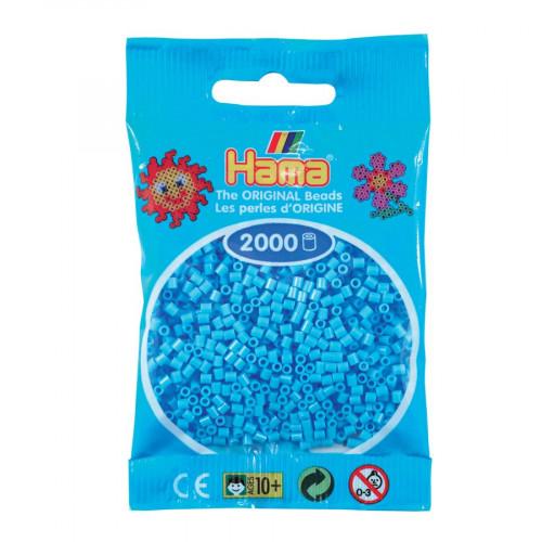 Perles à repasser Mini x 2000 - Bleu pâle