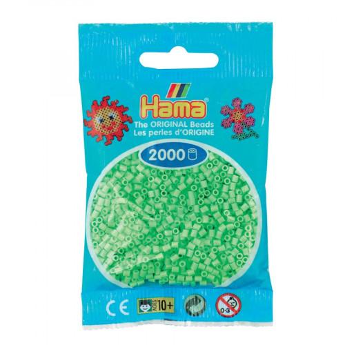 Perles à repasser Mini x 2000 - Vert pâle