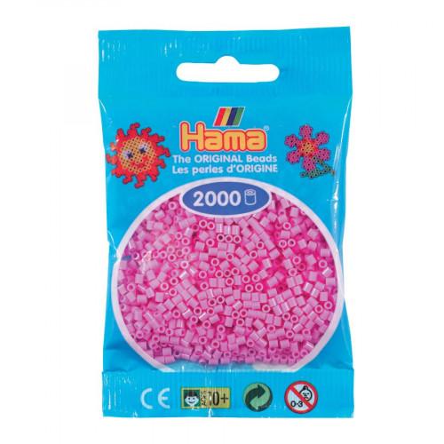 Perles à repasser Mini x 2000 - Rose pâle