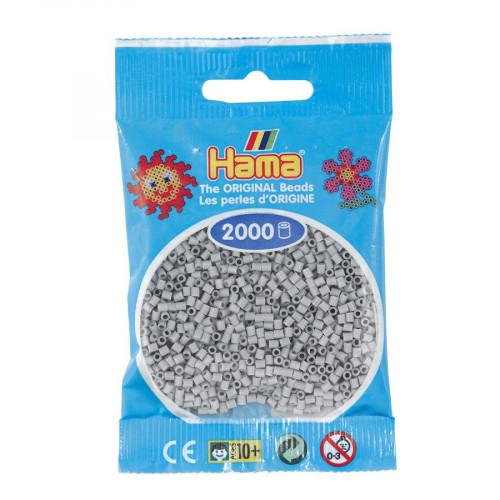 Perles à repasser Mini x 2000 - Gris clair