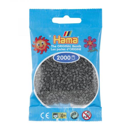 Perles à repasser Mini x 2000 - Gris foncé