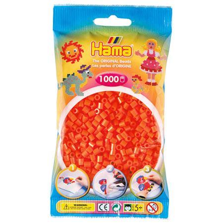 Perles Hama midi x 1000 - Orange