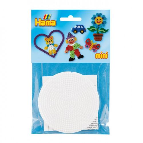 Plaques pour perles à repasser Mini - Rond - 2 pcs