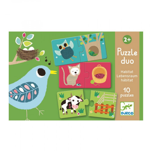 Puzzle duo - Les Animaux