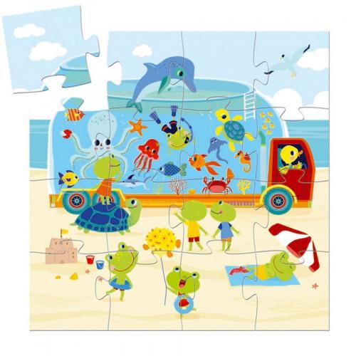 Puzzle L'aquarium - 16 pcs