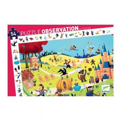 Puzzle d'observation - Contes - 54 pcs