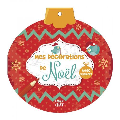 Livre - Mes décorations de Noël