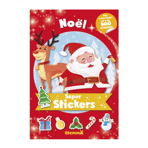 Album Super stickers - Noël