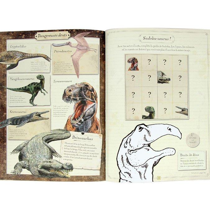 Cahier d'activités Les Petits Curieux - Dinosaures
