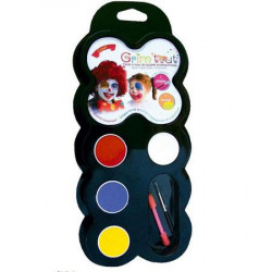 Palette de maquillage - Clown