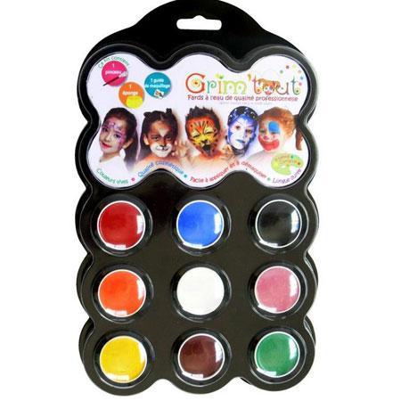 Palette de maquillage - Carnaval
