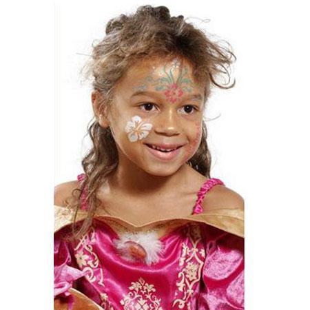 Pochoir de maquillage - Fleurs