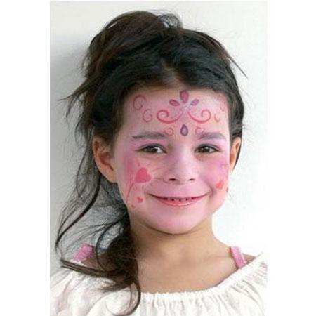 Set de 4 pochoirs de maquillage